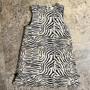 VTG Gymboree Zebra Print Dress Girls 8